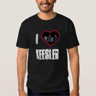 KeeslerHeart, Keesler, I Tee Shirt