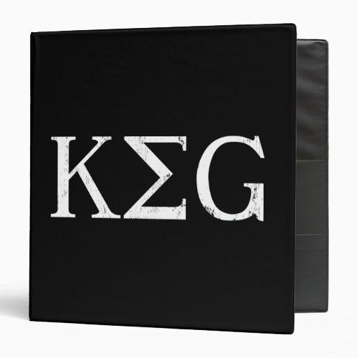keg letters drinking tshirt 3 ring binder