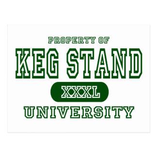 Keg Stand Postcard