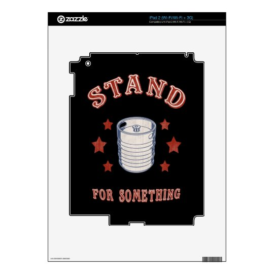 Kegstand For Something iPad 2 Skin