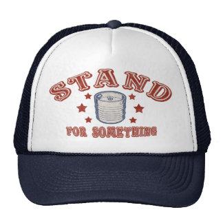 Kegstand For Something Trucker Hat