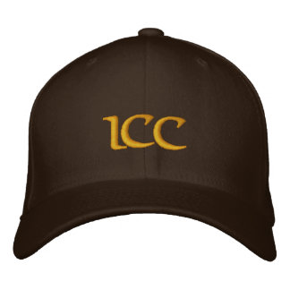Keifi ICC Yellow - Orange Embroidered Baseball Hat