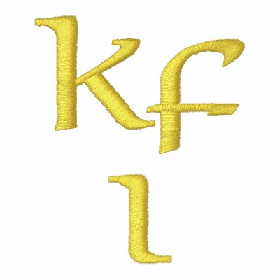 Keifi Kfi NP Yellow /  Silver Embroidered Hoody