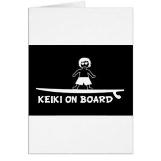 Keiki a bordo .JPG Tarjetón