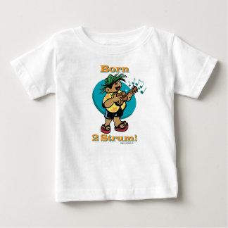 Keiki Kapila - Born 2 Strum Baby T-Shirt