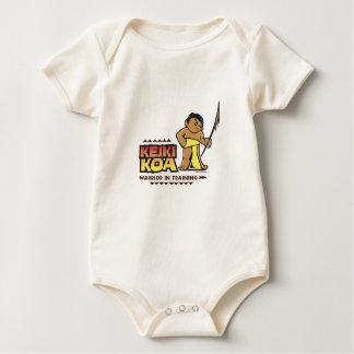 Keiki Koa (Kid Warrior) full-color Baby Creeper
