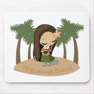 Keilana the Hula Girl Mouse Pad