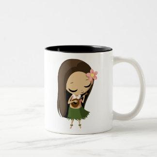 Keilana the Hula Girl Coffee Mug