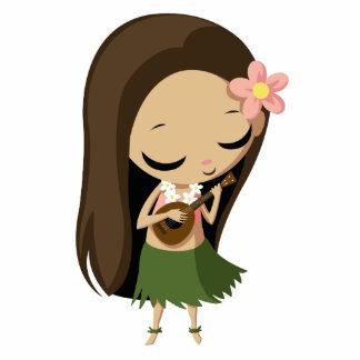Keilana the Hula Girl Photo Cut Out