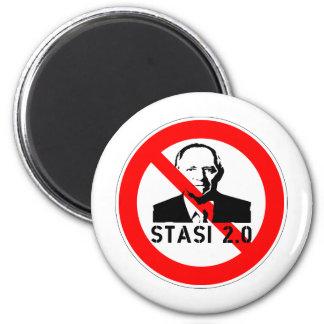Keine Stasi 2.0 Magnet