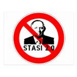 Keine Stasi 2.0 Postcards