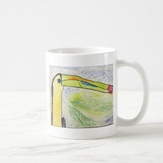 Keira Olive Classic White Coffee Mug
