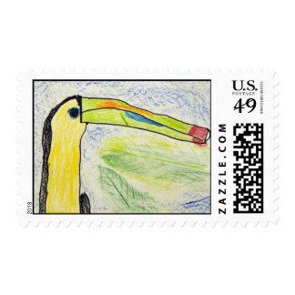 Keira Olive Stamp