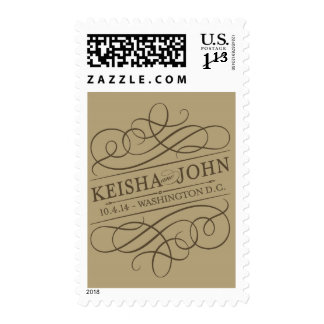 Keisha and John Washington DC stamp
