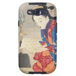 Keishu Takeuchi, arte del ukiyo-e de la lámpara de Samsung Galaxy S3 Cárcasa