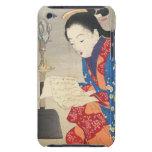 Keishu Takeuchi, Dawn Mouse Lamp ukiyo-e art iPod Touch Cover