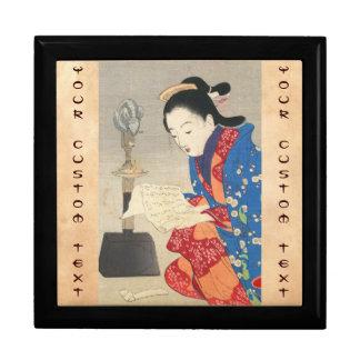 Keishu Takeuchi, Dawn Mouse Lamp ukiyo-e art Gift Box