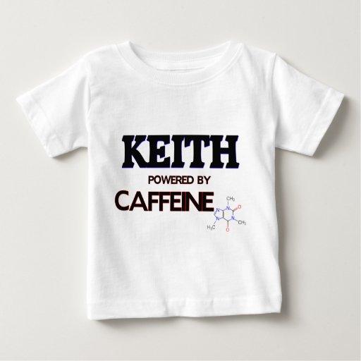 Keith accionó por el cafeína t-shirts