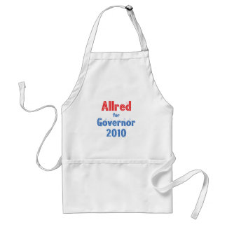 Keith Allred for Governor 2010 Star Design Adult Apron