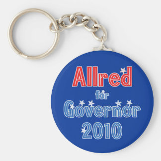 Keith Allred for Governor 2010 Star Design Keychain