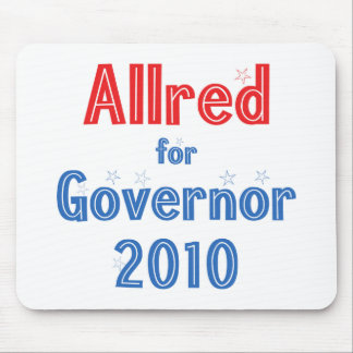 Keith Allred for Governor 2010 Star Design Mouse Pad