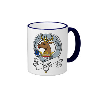 Keith Clan Badge Coffee Mugs