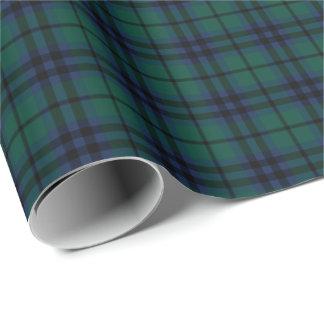Keith Clan Modern Tartan Wrapping Paper