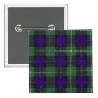 Keith clan Plaid Scottish tartan Button