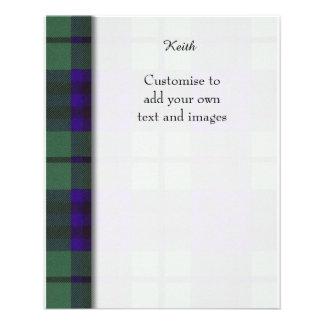 Keith clan Plaid Scottish tartan Flyer