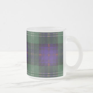 Keith clan Plaid Scottish tartan Frosted Glass Coffee Mug