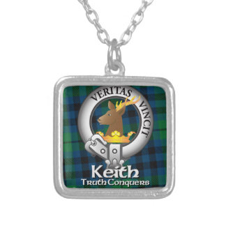 Keith Clan Silver Plated Necklace