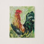 Keith colorido el RoosterRooster Rompecabezas Con Fotos