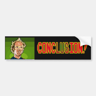 Keith Conclusion Bumper Sticker