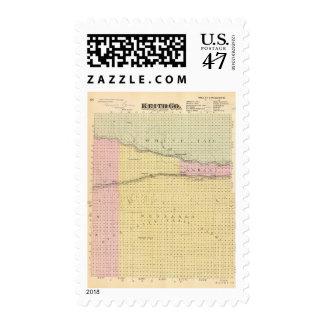 Keith County, Nebraska Stamp