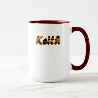 Keith Customized Ringer Mug