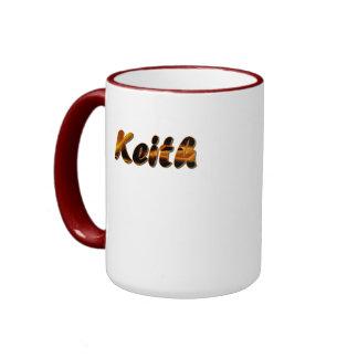 Keith Customized Ringer Mug