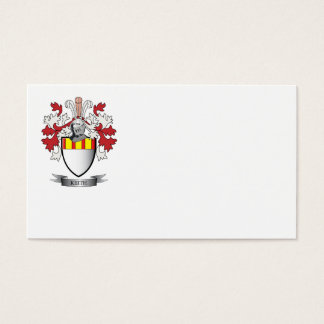 Keith Family Crest Coat of Arms Business Card