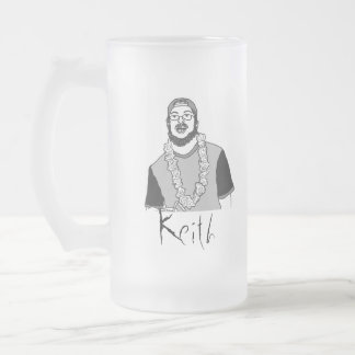Keith Frosted Glass Beer Mug