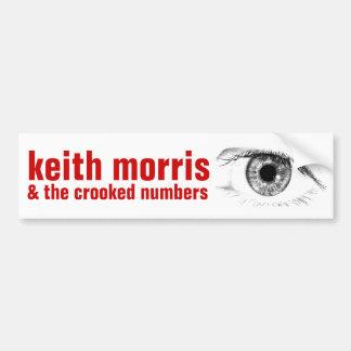 Keith Morris y la pegatina para el parachoques Pegatina Para Auto