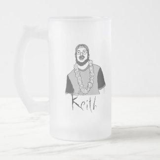 Keith 16 Oz Frosted Glass Beer Mug