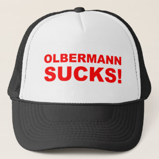 Keith Olbermann Sucks! Trucker Hat