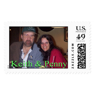 Keith&Penny Postage Stamp