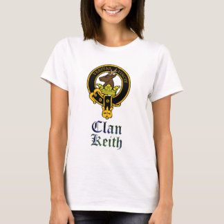 Keith scottish crest and tartan clan name T-Shirt