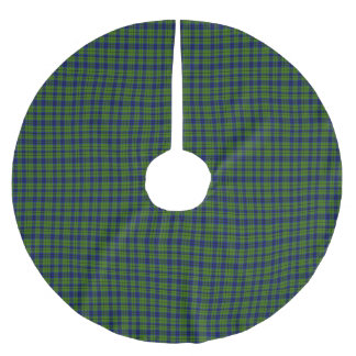 Keith Scottish Tartan Brushed Polyester Tree Skirt