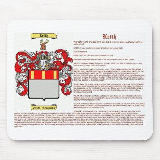 Keith (significado) alfombrillas de ratón