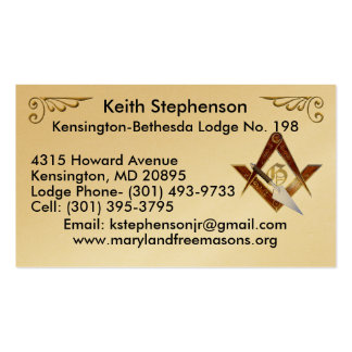 Keith Stephenson Double-Sided Standard Business Cards (Pack Of 100)