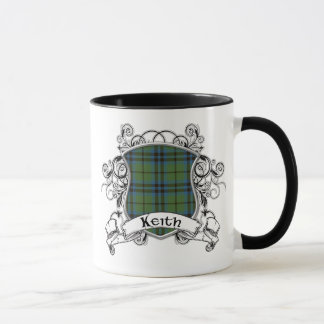 Keith Tartan Shield Mug