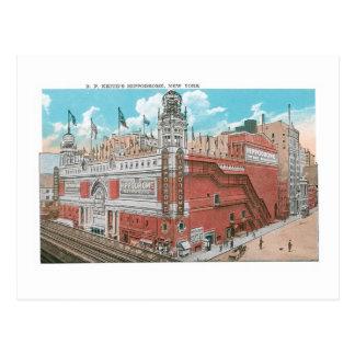 Keith's Hippodrome, New York Postcard
