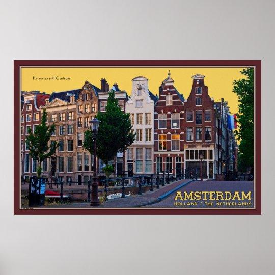 Keizersgracht Centrum Poster