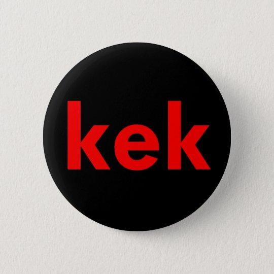 kek pinback button